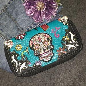 Handbags - Wallet Skull and StudS
